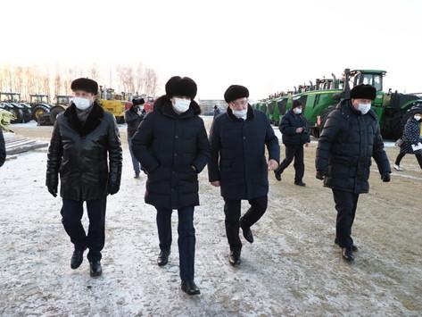 Артём Здунов ознакомился с работой предприятий «Магма ХД» и «КомбиС» в Чамзинском районе