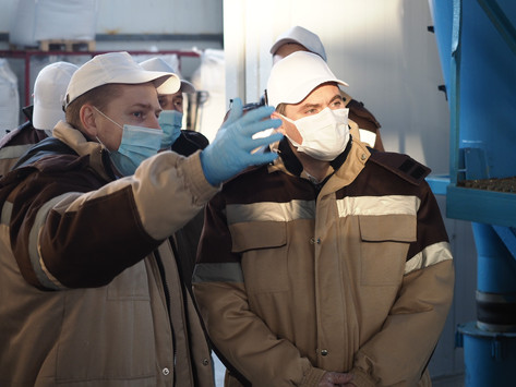 Врио Главы Мордовии оценил экспортный потенциал АО «Птицефабрика «Чамзинская»