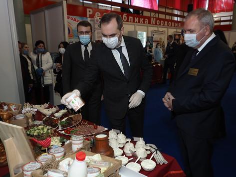 Агропромышленная выставка в Мордовэкспоцентре