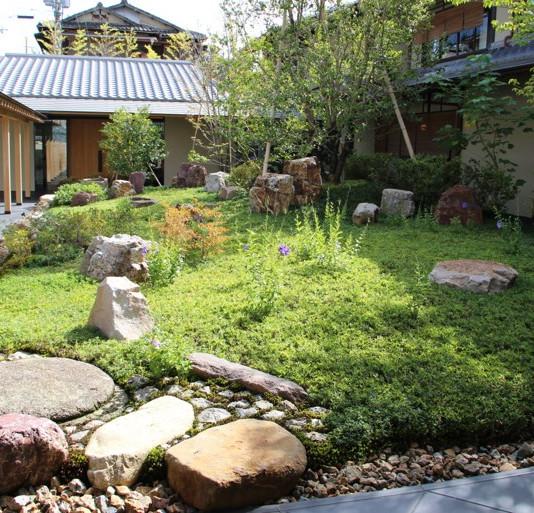 パークハイアット京都  プリツカ―庭園