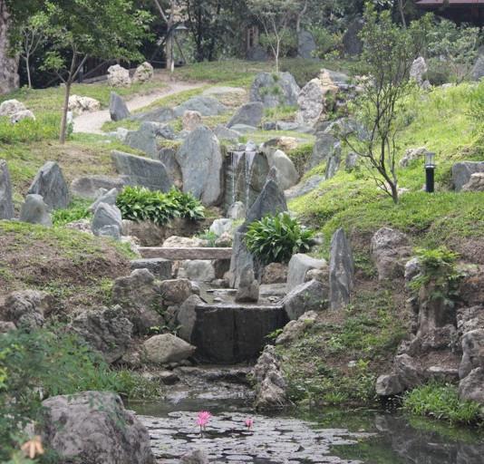中華民国台湾・台南庭園