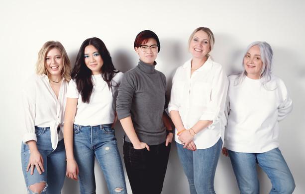 Hilary, Kelsey, Zenna, Eva, Roxanne