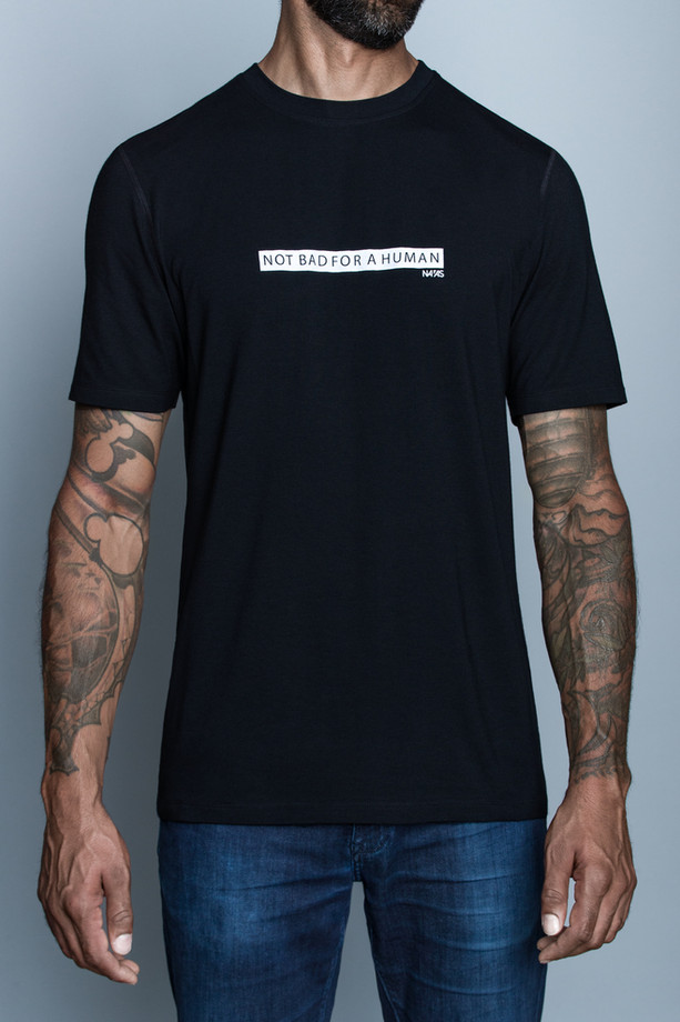 Navas Lab - Crowe NOT BAD Bamboo Cotton T-Shirt