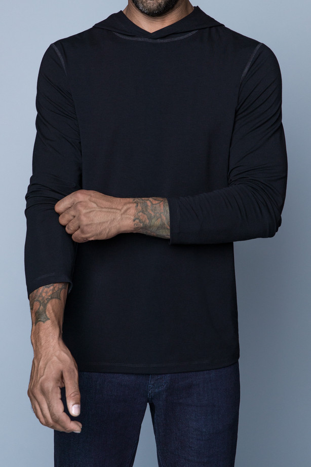 Navas Lab - Vasquez Hooded Long-Sleeve Shirt