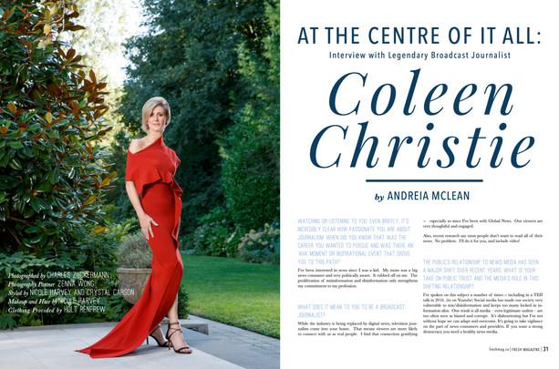 Fresh Magazine - Coleen Christie