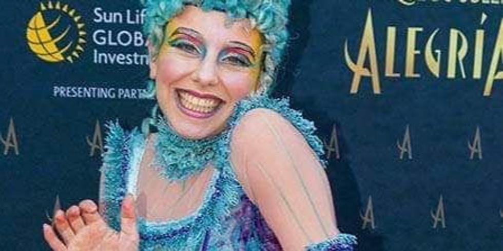 Creature Workshop for Film with Cirque Du Soleil Performer Amber Fulljames