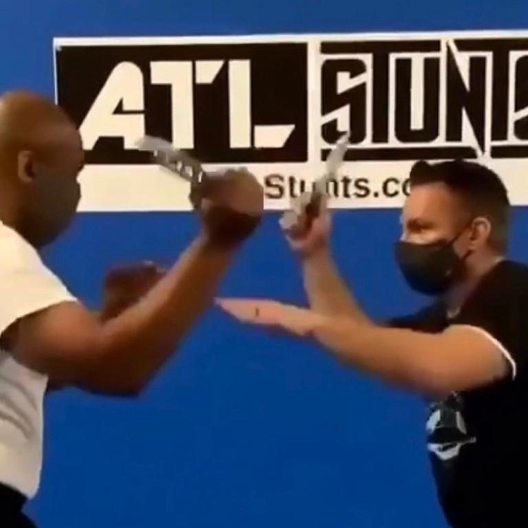 Martial Arts seminar (Stick and knife training )