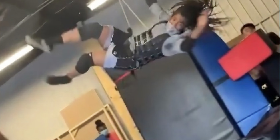 Open Stunt Training (Wirework and Fighting For Camera )