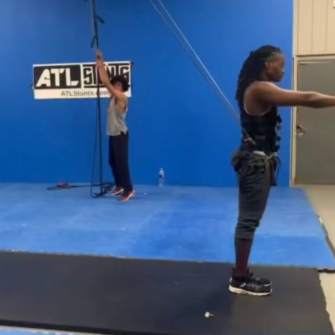 Introduction to Stunts  (beginners stunt training and Wirework )