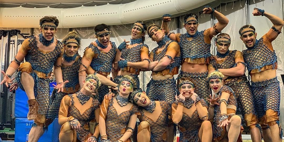 Acrobatics for Stage and Film, with Cirque Du Soleil, Ahmahd Thomas