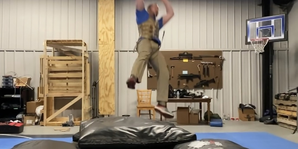Open Stunt Training ( Wirework and Fighting For Camera )