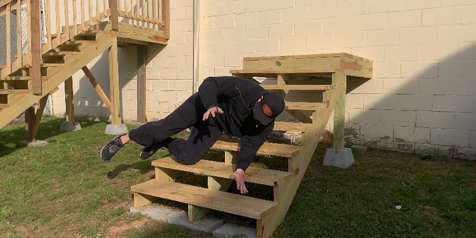 Stair Fall training