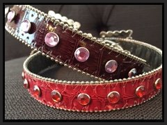 dog collars and leashes, dog bling