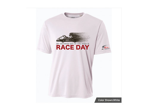 Youth Shirt - My Favorite Day of the Week is Race Day