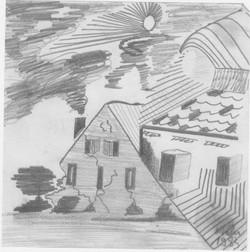 Der Feuerwehrmann; 1985; Bleistift; imachd.