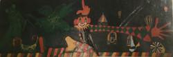 Der Clown, mikro,makro, Achim u. Gottfried.IMG_1