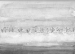 Landschaft in grau; 1990; Aquarell; imachd._edited