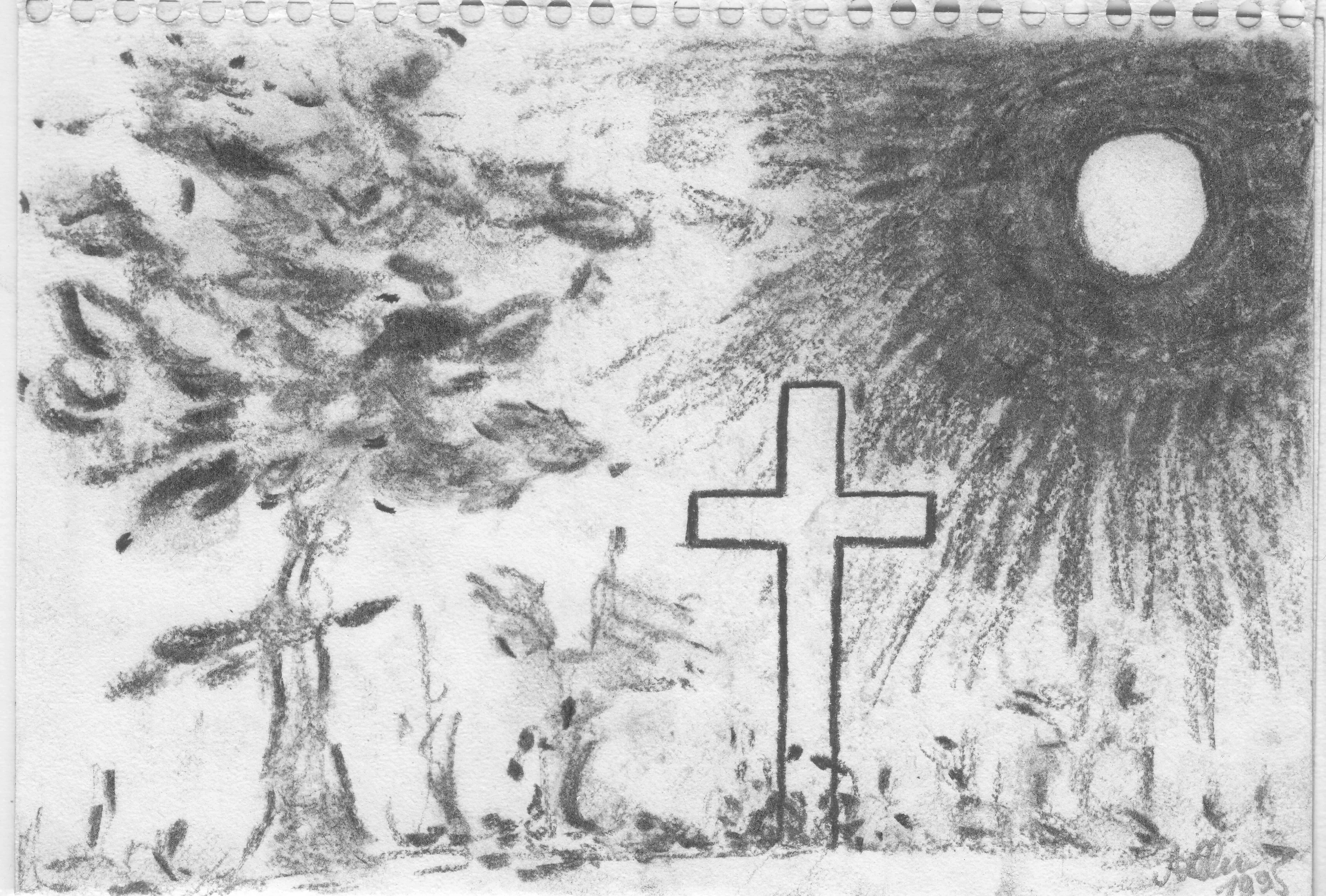 Kohlekreuz; 1995; Kohle; imachd.