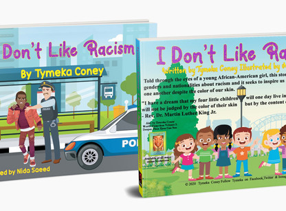 """Interview with Tymeka Coney, Author of """"I Don't Like Racism"""""""