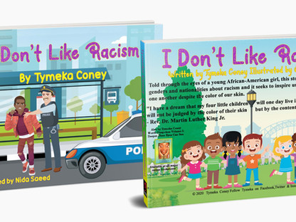 "Interview with Tymeka Coney, Author of ""I Don't Like Racism"""