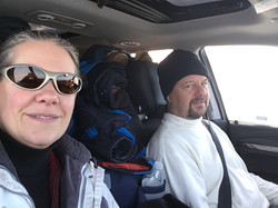 Driving home from Standing Rock 12/2016