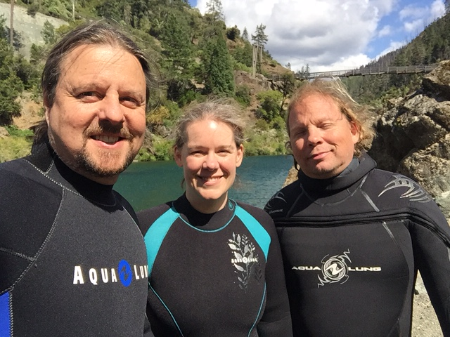 Lori Anne's certification dive 06/2016