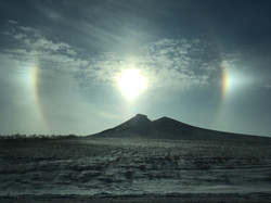 Reflections around the sun 12/2016
