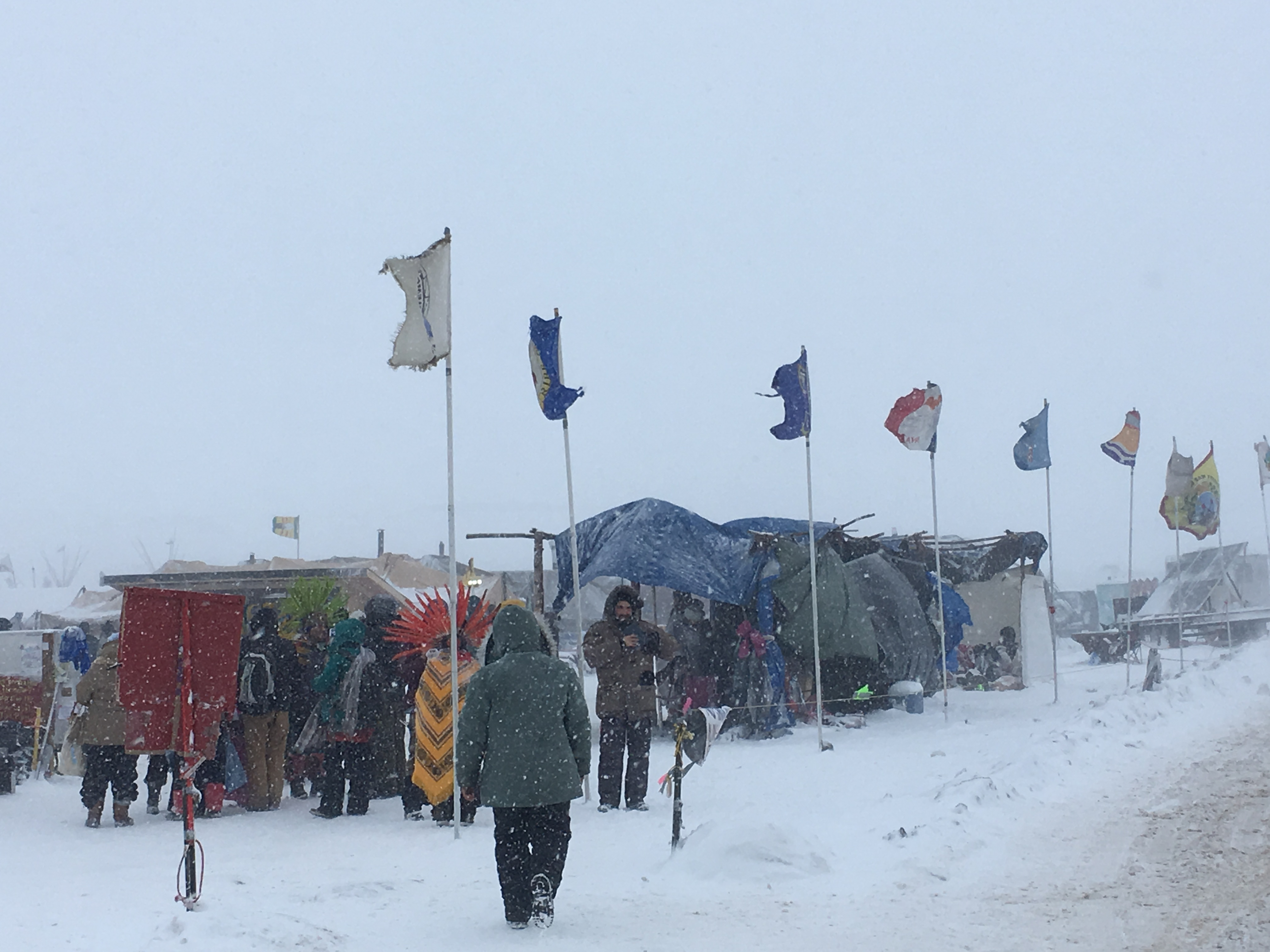Standing Rock Protest Camp 12/05/2016