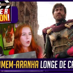 HOMEM-ARANHA LONGE DE CASA | REAÇÃO 1º Trailer