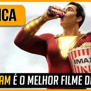 SHAZAM É O MELHOR FILME DA DC? | CRÍTICA