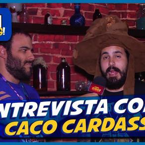 Entrevistamos CACO CARDASSI NA ESCOLA DE MAGIA E BRUXARIA | Flashbang