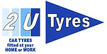 2 u tyres petersfield logo