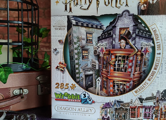 Weasley's Wizard Weezes & Daily Prophet 3D Jigsaw Puzzle