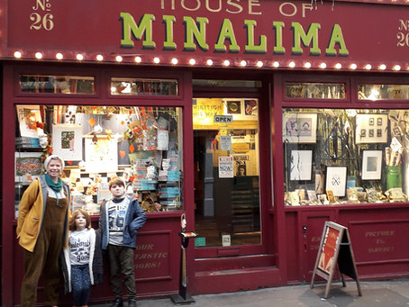 The House of Mina Lima and London tour