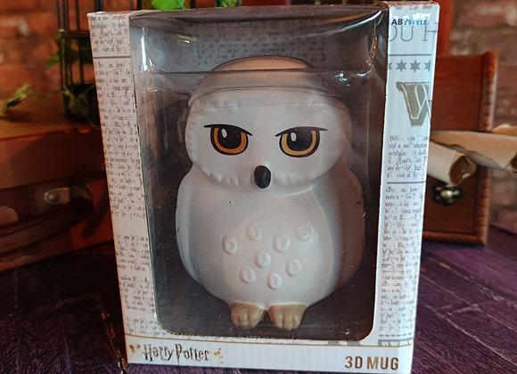 Harry Potter Large Hedwig 3D Mug