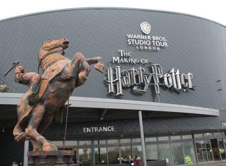Our trip to London - The Warner Bros. Studio Tour