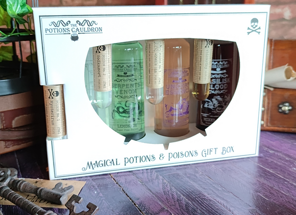 The Potions Cauldron Poison and Potions Gift Box