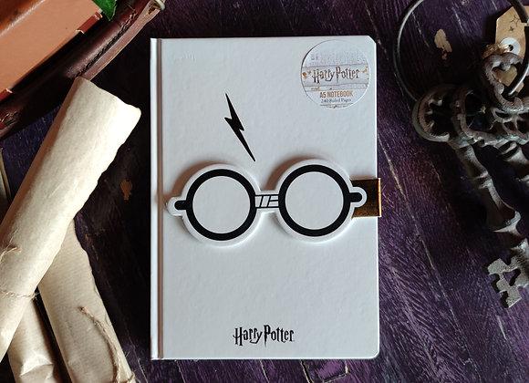 Harry Potter Glasses & Scar Notebook