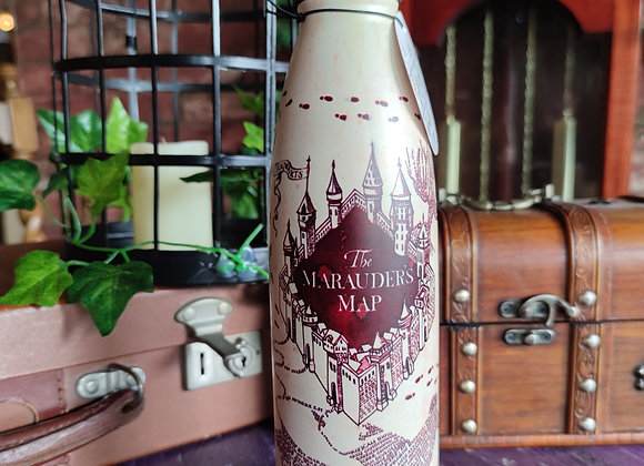 Harry Potter Marauders Map Metal Water bottle (500ml)