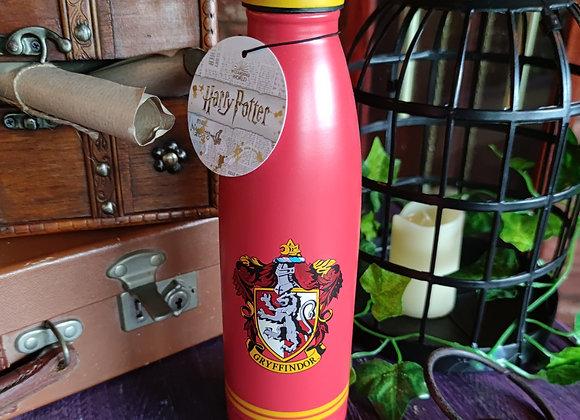 Harry Potter Metal Water Bottle (500ml) Gryffindor