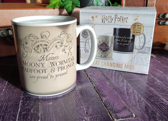 Harry Potter Heat Changing Marauders Map Mug