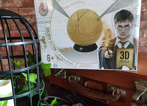 Golden Snitch - 3D Jigsaw Puzzle