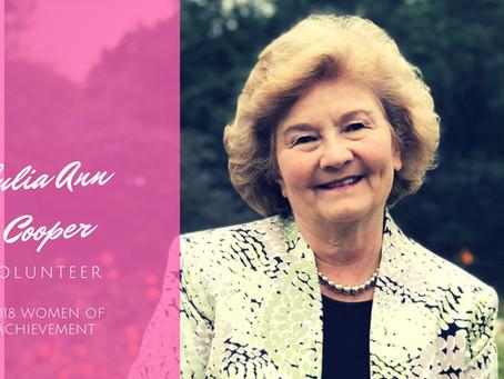 Women of Achievement: Julia Ann Cooper
