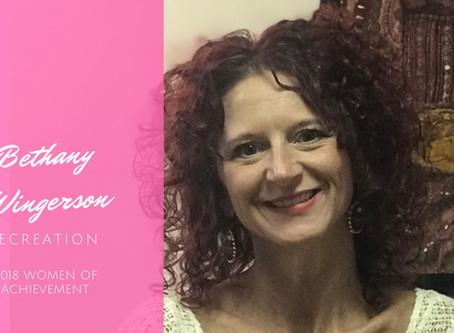 Women of Achievement: Bethany Wingerson