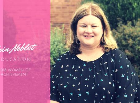 Women of Achievement 2018: Erin Noblet