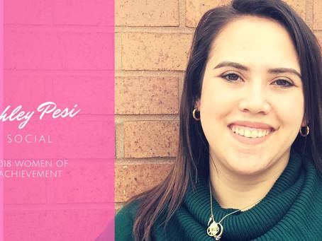 Women of Achievement: Ashley Pesi