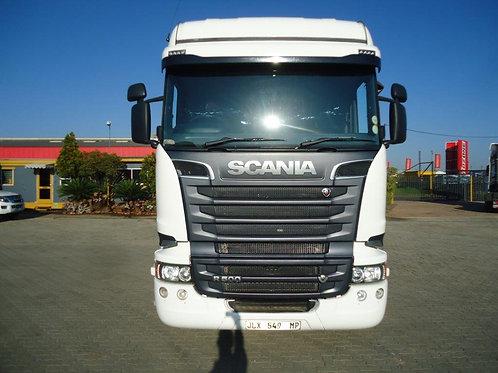 2018 scania R500