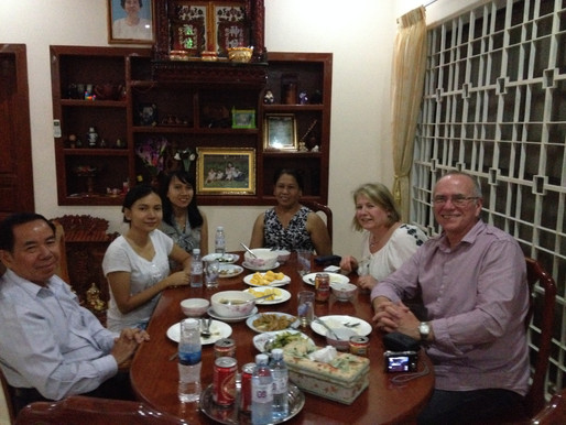 Local Cambodian Family Hosted Dinner