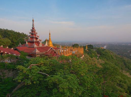 Mandalay Hill (sunset)