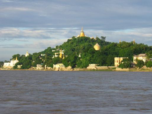 Sagaing Hills & U-Bein Wooden Bridge